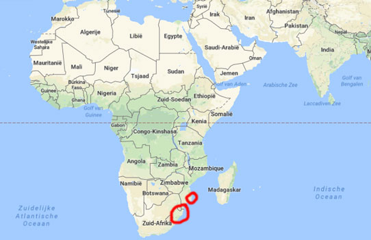 map mozambique south africa